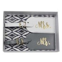 Mr and Mrs Luggage Tags and Gifts | The Paisley Box