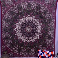 new bohemian decor tapestries mandala cloth polyester beach throw wall blanket indian wall tapestry