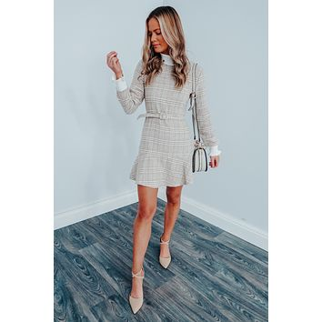 Preppy Perfection Dress: Multi