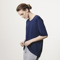 Boyfriend Style Crew Neck T Shirt | Relaxed Fit