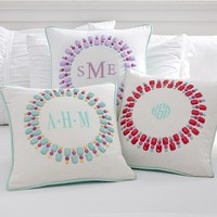 Gem-Sational Monogram Pillow Covers