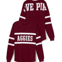 Texas A&M Hoodies, Tanks & Crews - PINK College Apparel