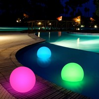"Floating 10"" Light Up LED Ball- As Seen On The Today Show"