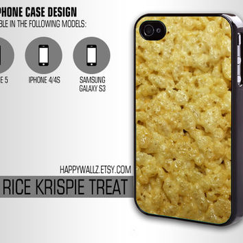Rice Krispie Treat Iphone Case Food Iphone 4 case Hipster Iphone 5 case Iphone 4s case Samsung Galaxy S3 Case Iphone 4 Cover