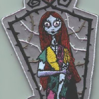 Nightmare Before Christmas Iron-On Patch Sally Frame