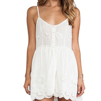 Spell & The Gypsy Collective Indian Summer Sun Dress in White