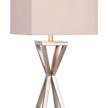 JAlexander Carrie Open Caged Metal Table Lamp | Nordstrom