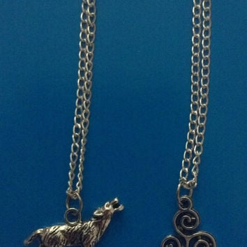 Teen Wolf Inspired Charm Necklace Singular Charm by FanacFanny