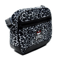 50s Rockabilly Leopard Handbag Punk Purse