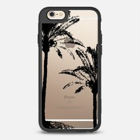 BLACK PALM TREES iPhone 6s case by Julia Grifol Diseñadora Modas-grafica | Casetify