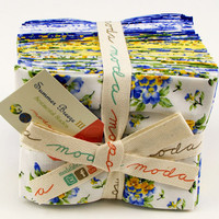 Summer Breeze III Fat Quarter Bundle by Sentimental Studios for Moda Fabrics