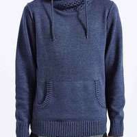 Commerce Cross-Neck Pullover Hooded Sweater