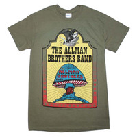 The allman brothers band - 70s classic rock adult unisex t-shirt