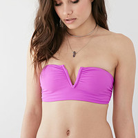 Strap-Braided V-Wire Bandeau