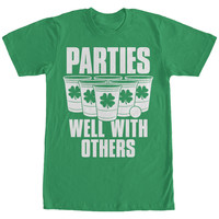 St Patricks Day Parties Well Mens Basic Tee