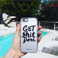 Cool iPhone 6s & 6s Plus Case (Get Shit Done Pattern) by Casetify