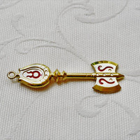 Fairy Tail,Lucy's Key,Taurus,Celestial Wizard,Gatekey,Lucy Heartfilia,Key Necklace,Manga,Anime,Taurus Key Necklace,Zodiac Necklace,Zodiac