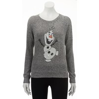 Disney Frozen Sweater-Knit Olaf Top - Juniors
