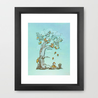 I Hear Music in Everything Framed Art Print by Boots | Society6