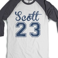One Tree Hill Burnout Varsity 'Scott 23' - Version 1-T-Shirt L |