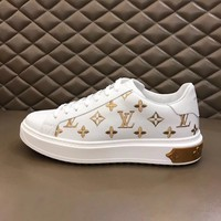 LV Louis Vuitton popular Women Men Casual Running Sport Shoes Sneakers Slipper Sandals High Heels Shoes