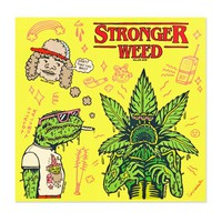 Stronger Weed Sticker Sheet