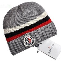 Moncler New Style 7 Cable Knit Beanie