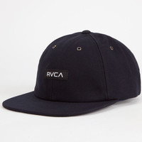 Rvca Bixel Mens 5 Panel Hat Navy One Size For Men 26077021001