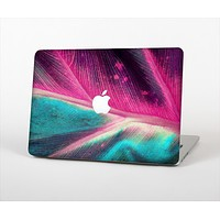 """The Neon Pink & Green Leaf Skin Set for the Apple MacBook Air 13"""""""