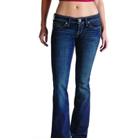 Ariat Women's Ruby Essential Western Jeans with Flap in Rain 10010341