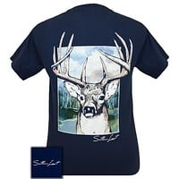 Southern Limits Buck Deer Unisex Comfort Colors T-Shirt