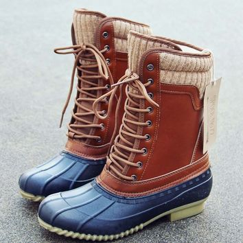The Portland Duck Boot