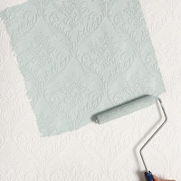 Graham & Brown Damask Paintable Wallpaper - Urban Outfitters
