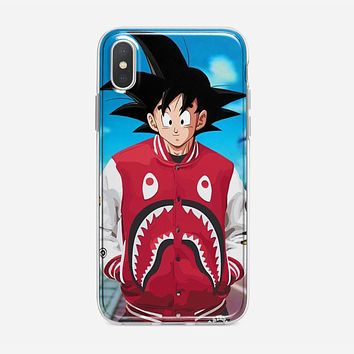 Goku Bape Artwork iPhone X Case