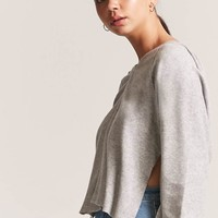 High-Low Hooded Top