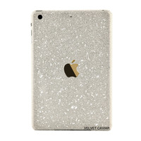 IPAD MINI GLITTER SILVER DECAL