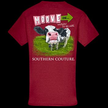 Southern Couture Classic Move on Cow T-Shirt