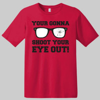 A Christmas Story T-shirt | Graphic Tees | Movie Tees | Novelty Tees | Funny Saying On T-shirts | Christmas T-shirts