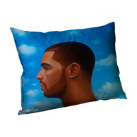 Drake NWTS  Front and Back All Over Print Pillowcase Standard Bed Pillowcase 21x31