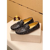 LV Louis Vuitton BEST QUALITY Men's Leather Fashion Loafers Shoes