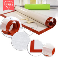 1PC Non-Stick Silicone Baking Mat Food Grade Silicone Bakeware Mat  Biscuit Candy Tools HM-01S