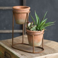 Two-Tiered Planter
