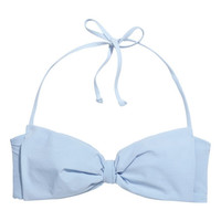 Bandeau Bikini Top with Bow - from H&M