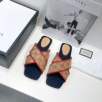 GUCCI 2020 flat bottom sandals
