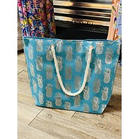 Pineapple Tote-Large