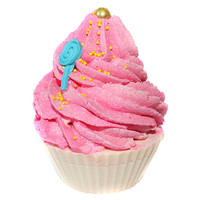 Holiday Candy Cupcake Soap