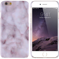 6S Plus Capa Art Print Ultra Thin Granite Marble Texture Back Case For Apple iPhone 6 Plus/ 6S Plus Phone Accessories Hard Cover