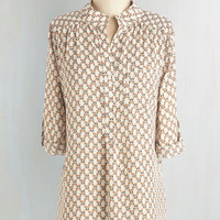 Critters Long Long Sleeve Tune of the Raccoon Top by ModCloth