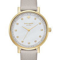 clocktower grey pave monterey watch