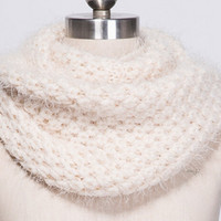 Knit Scarf Twisted Neck Warmer